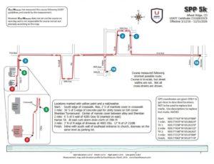 Wheat Ridge 5K race map