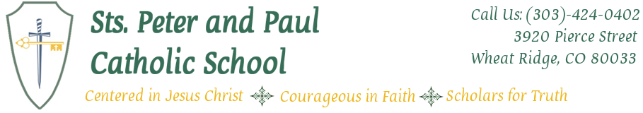 Saints Peter & Paul Catholic School | Wheat Ridge